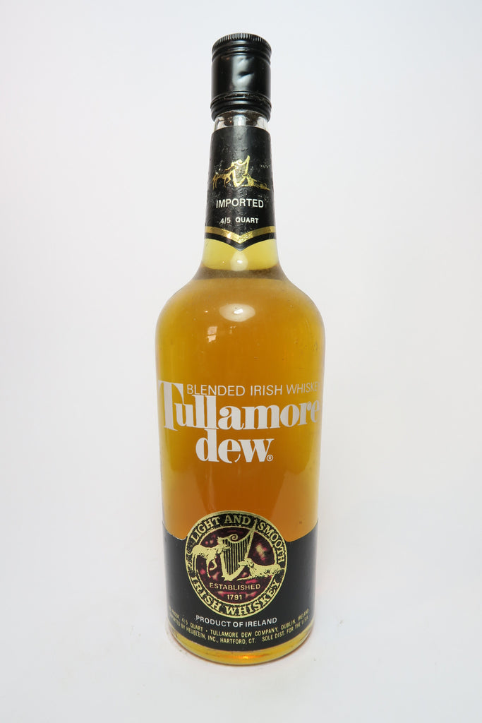 Tullamore Dew Blended Irish Whiskey - 1970s (40%, 75.7cl)