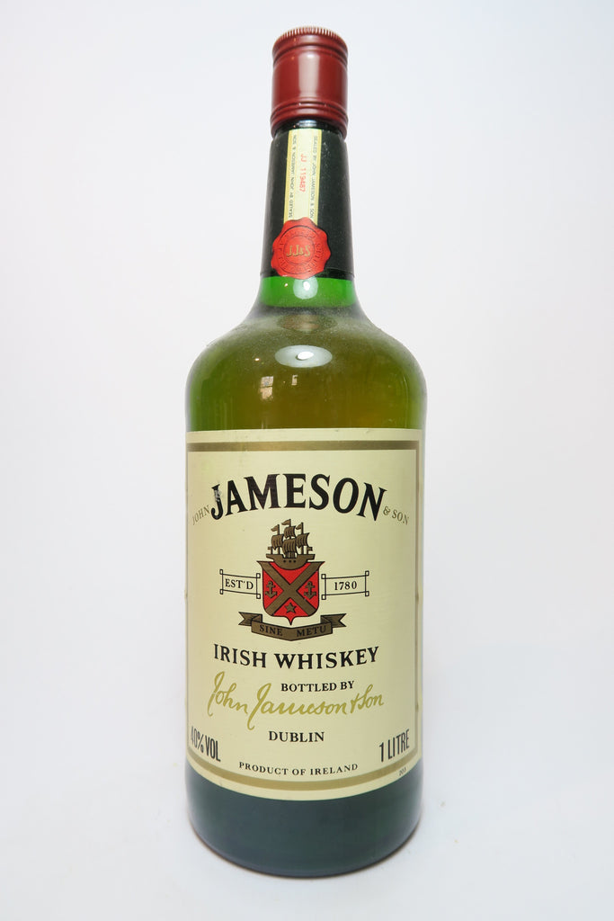 John Jameson & Son's Blended Irish Whiskey - 1970s (40%, 100cl)