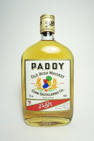 Cork Distilleries Co. Paddy Old Irish Blended Whiskey - 1970s (43%, 50cl)