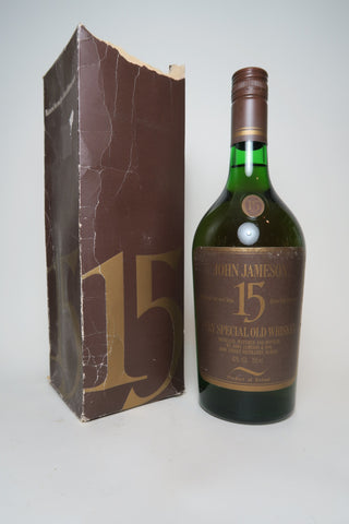 John Jameson 15YO Special Old Irish Whiskey - 1970s (40%, 75cl)