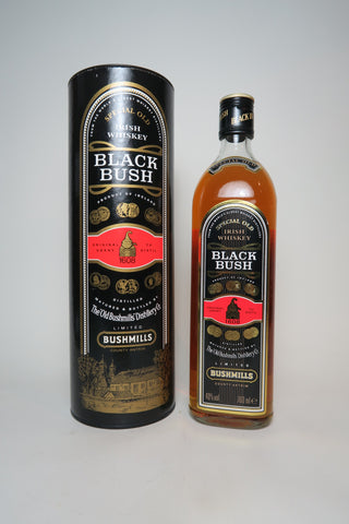 Bushmills Black Bush Irish Whisky - late 1980s/early 1990s (40%, 70cl)
