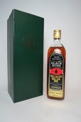 Bushmills Black Bush Irish Whisky - 1980s (40%, 75cl)