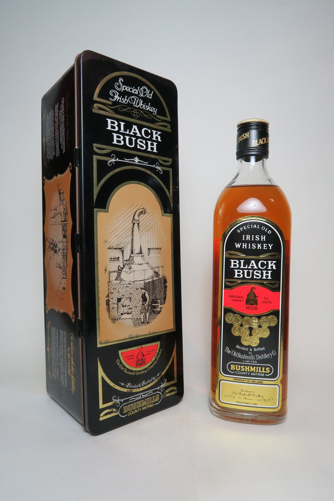 Bushmills Black Bush Special Old Blended Irish Whisky - 1980s (40%, 70cl)