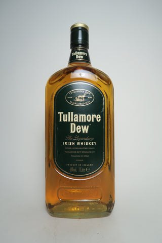 Tullamore Dew Finest Old Blended Irish Whiskey - 1990s (43%, 100cl)