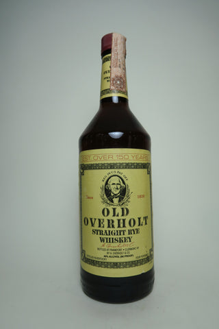 A. Overholt's Old Overholt 4YO Kentucky Straight Rye Whisky - Distilled 1991 / Bottled 1995 (43%, 100cl)