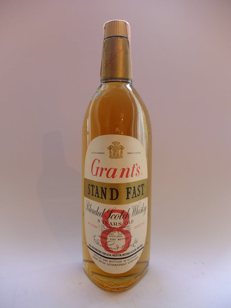 Grant's Stand Fast Blended Scotch Whisky - pre-1964	 (43%, 75.7cl)