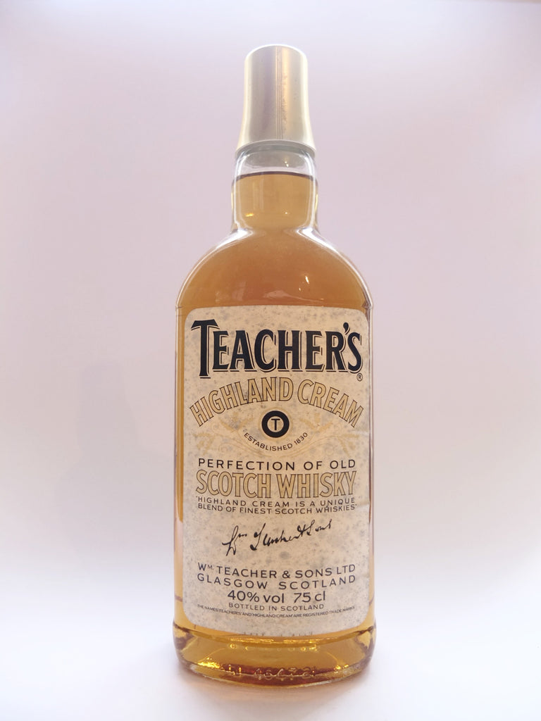 Teacher's Highland Cream Blended Scotch Whisky - 1980s	(43%, 75cl)