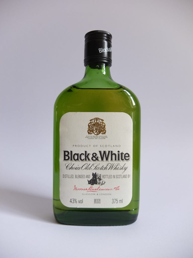 James Buchanan's Black & White Blended Scotch Whisky - 1990s (43%, 37.5cl)