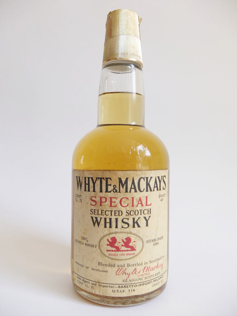 Whyte & Mackay Special Selected Scotch Whisky - 1970s (43%, 75cl)
