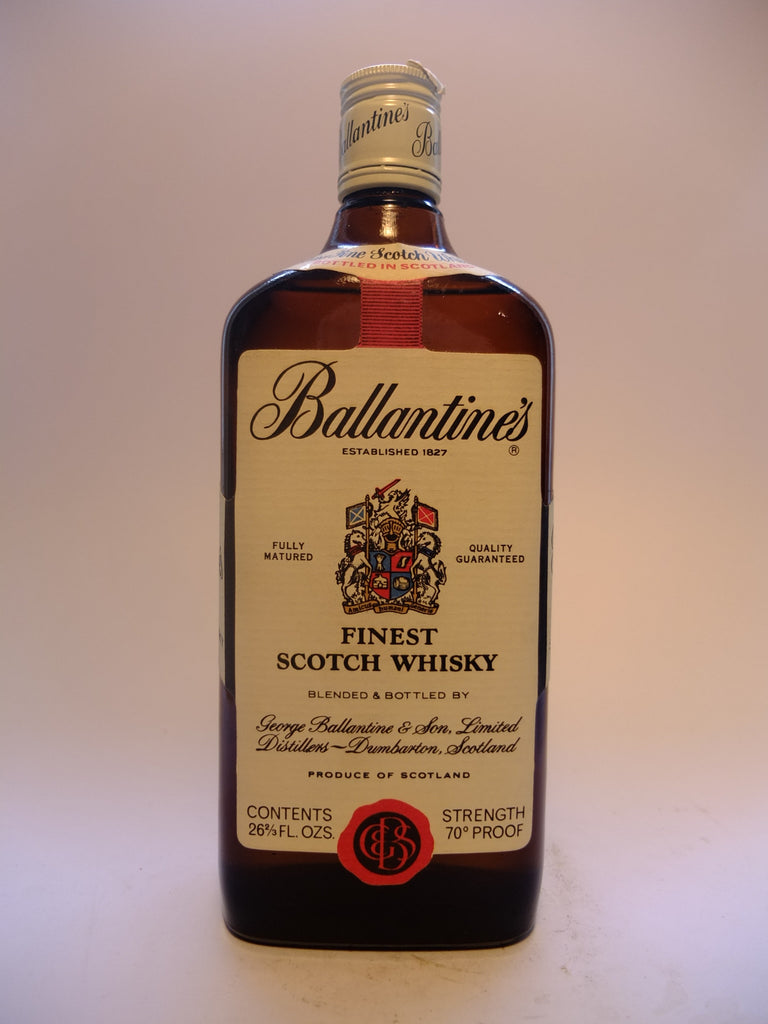 Ballantine's Finest Scotch Whisky - 1970s (40%, 75.7cl)
