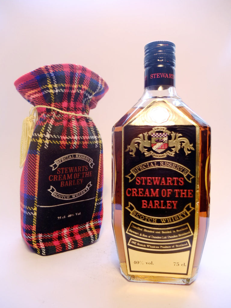 Stewarts Cream of the Barley Special Reserve Blended Scotch Whisky - 1970s (40%, 75cl)