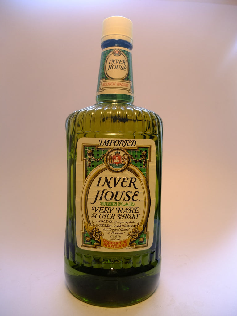 Inver House Green Plaid Rare Scotch Whisky - 1980s (40%, 175cl)