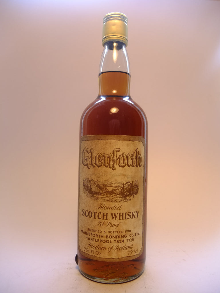 Glenforth Blended Scotch Whisky - 1970s (40%, 75.7cl)