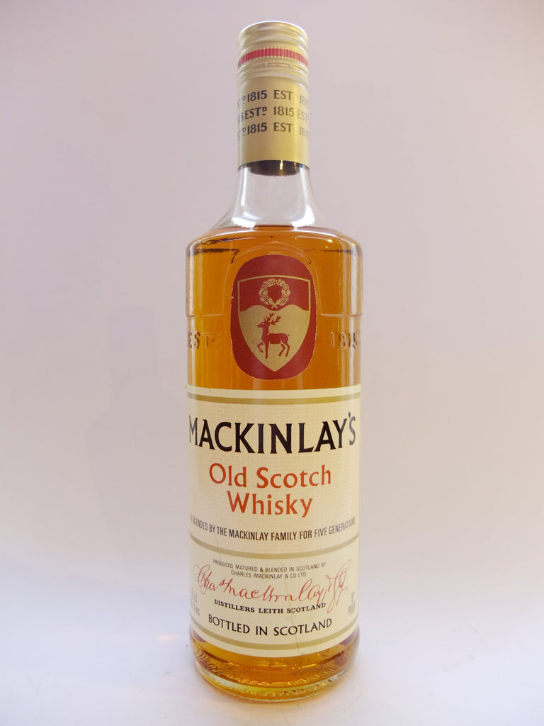 Mackinlay's Old Scotch Whisky - 1970s (40%, 75.7cl)