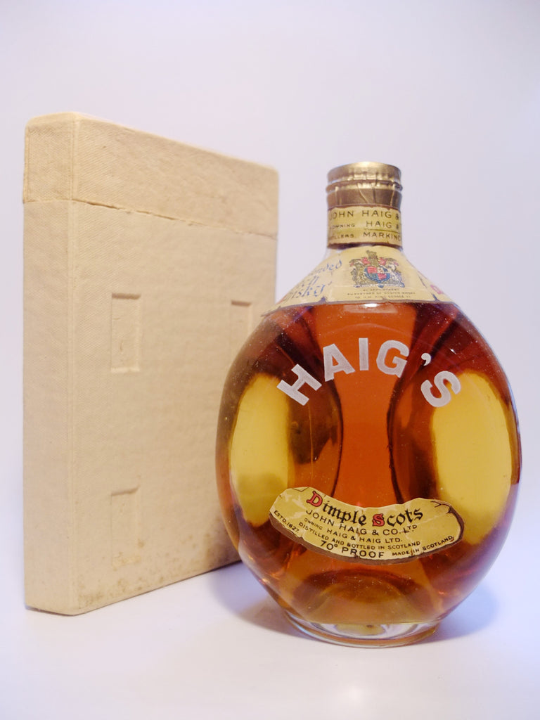 John Haig's 12YO Dimple Blended Scotch Whisky - Late 1940s (40%, 75cl)