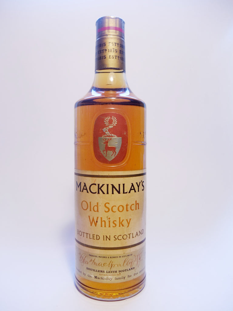 Mackinlay's Old Scotch Whisky - 1960s (40%, 75cl)