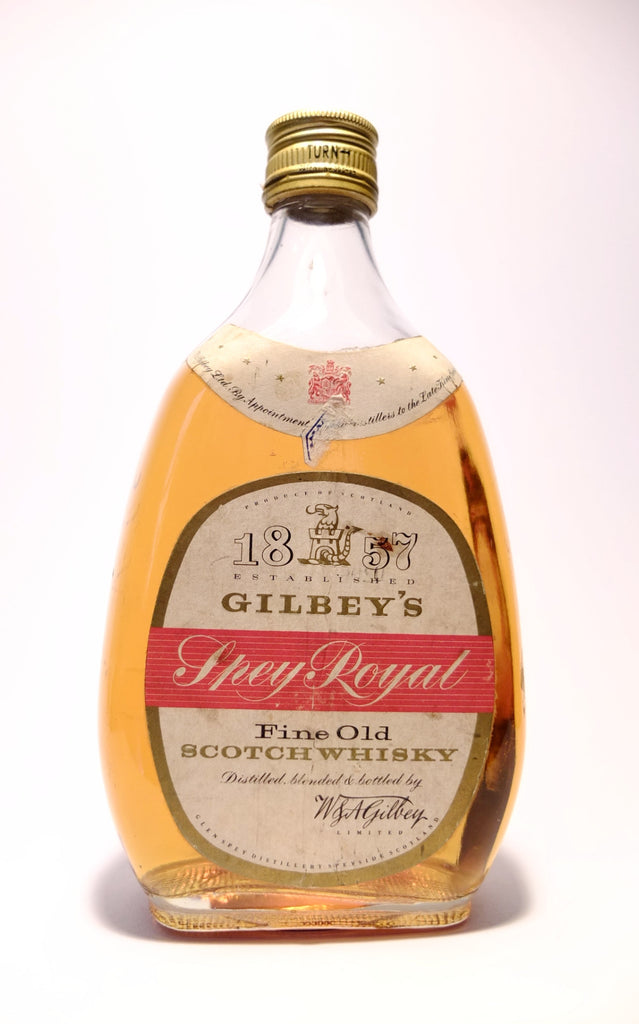 Gilbey's Spey Royal Fine Old Blended Scotch Whisky - 1960s (43%, 75cl)