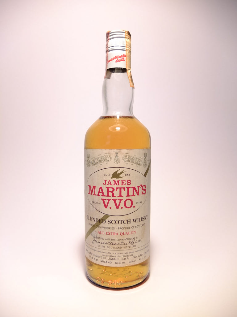 James Martin's V.V.O. Blended Scotch Whisky - 1970s (40%, 75cl)