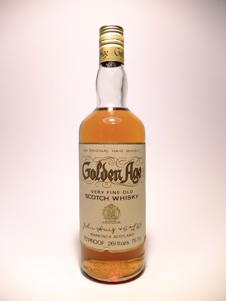 John Haig's Golden Age Blended Scotch Whisky - 1970s (40%, 75.7cl)
