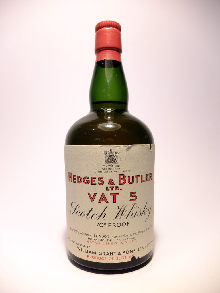 Wililam Grant & Sons - Hedges & Butler Ltd.