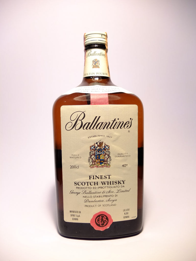 Ballantine's Blended Scotch Whisky - 1970s (40%, 200cl)