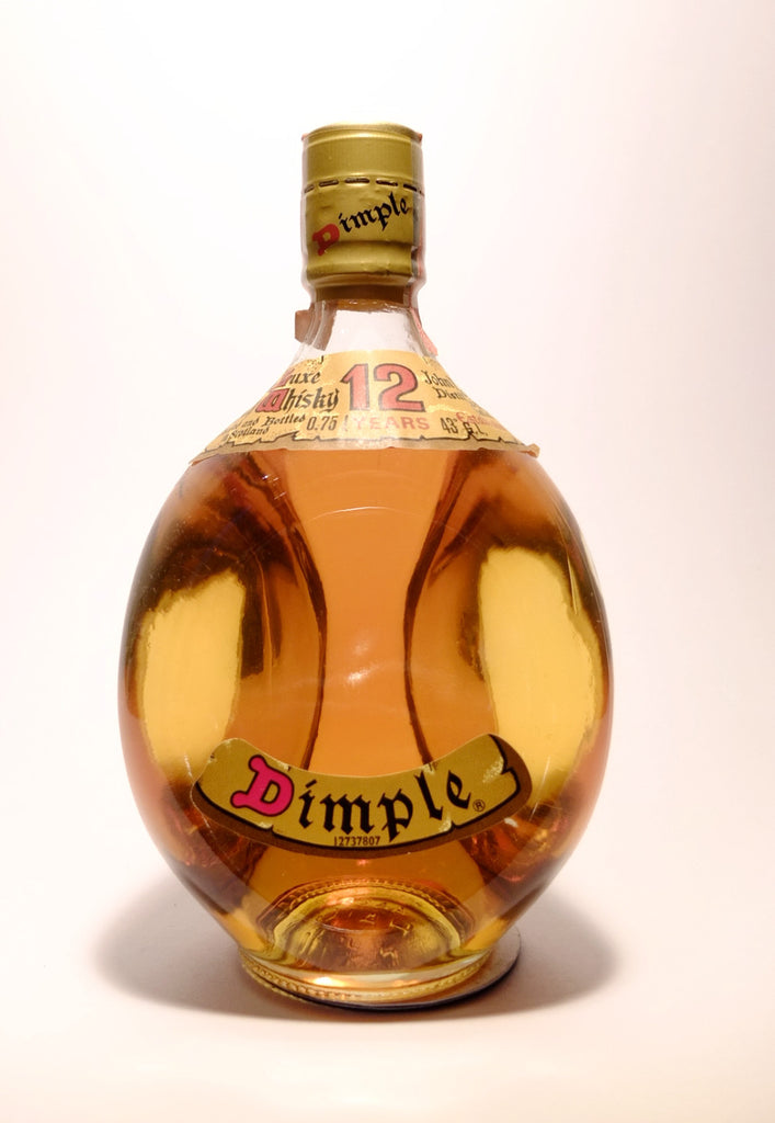 John Haig's 12YO Dimple Blended Scotch Whisky - 1970s (43%, 75cl)