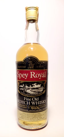 Gilbey's Spey Royal Fine Old Blended Scotch Whisky - 1970s (40%, 75cl)
