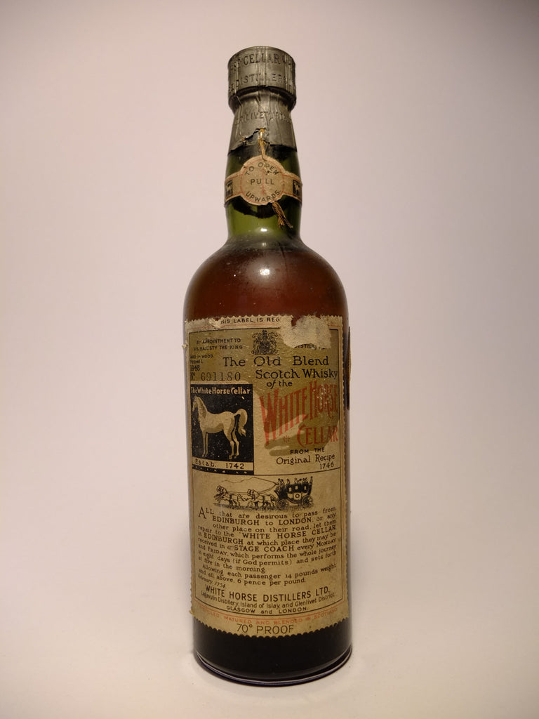 White Horse Blended Scotch Whisky - 1948 (40%, 75cl)