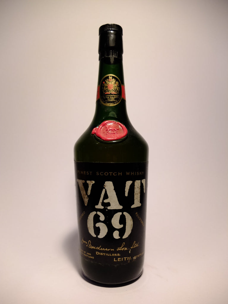 Sanderson's VAT 69 Blended Scotch Whisky - 1970s (40%, 75cl)