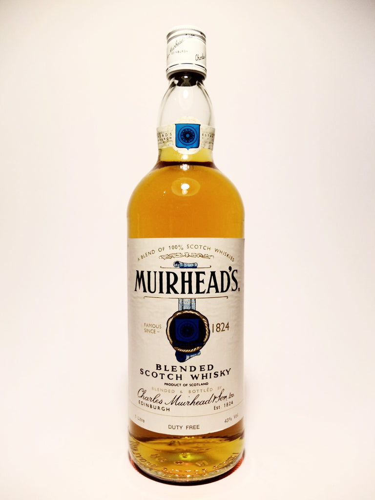 Charles Muirhead's Blended Scotch Whisky - 1970s (ABV Not Stated, 100cl)