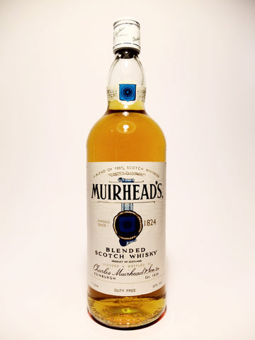 Charles Muirhead's Blended Scotch Whisky - 1970s (43%, 100cl)