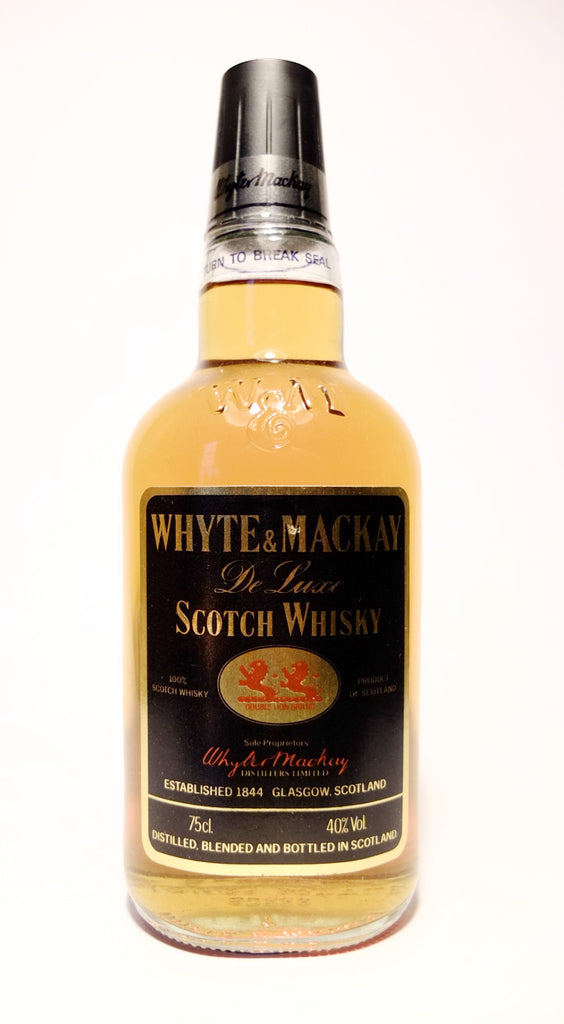 Whyte & Mackay De Luxe Scotch Whisky -1970s (40%, 75cl)