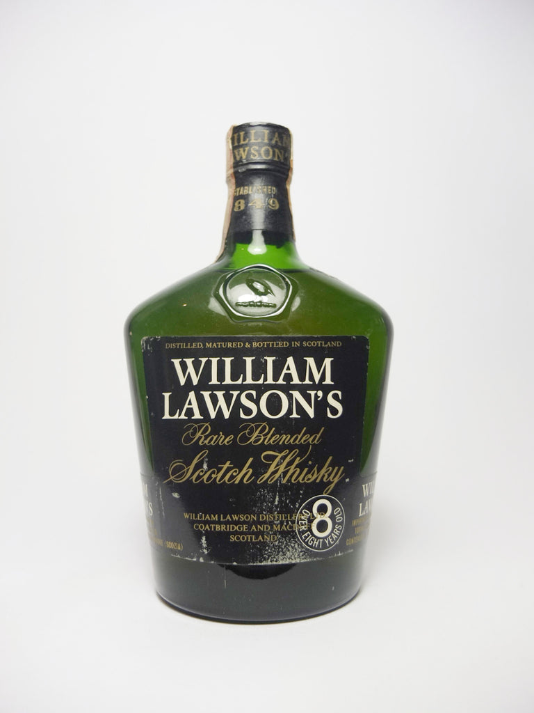 William Lawson's Rare 8YO Blended Scotch Whisky - 1970s (43%, 75cl)