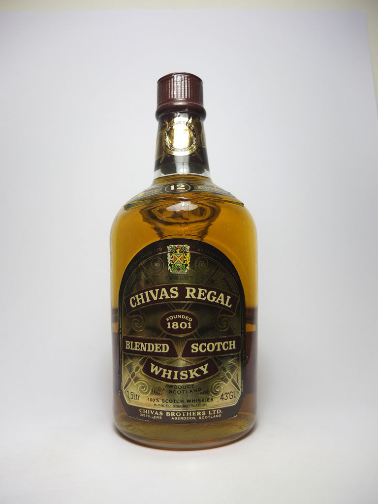 Chivas Regal, 12YO Blended Scotch Whisky - 1980s (43%, 150cl)