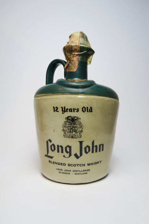 Long John 12YO Blended Scotch Whisky - 1970s (43%, 75cl)