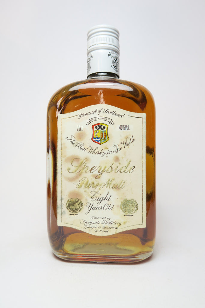Speyside 8YO Pure Malt Blended Scotch Whisky - 1970s (40%, 75cl)