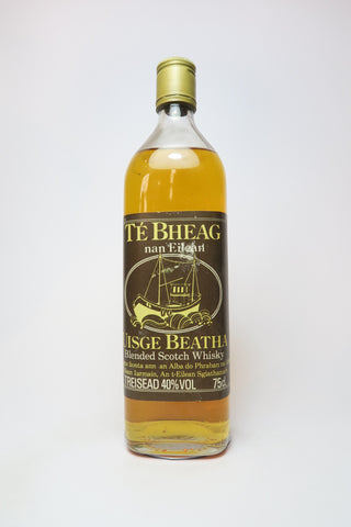Té Bheag Uisge Beatha Blended Scotch Whisky - 1970s (40%, 75cl)