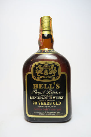 Bell's 20YO Royal Reserve Blended Scotch Whisky - 1970s (40%, 75cl)