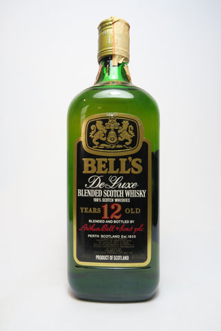 Bell's 12YO De Luxe Blended Scotch Whisky - 1980s (40%, 75cl)