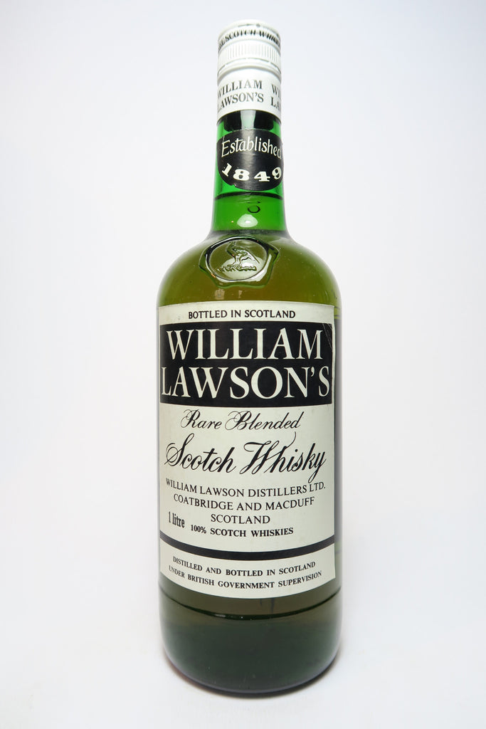 William Lawson's Rare Blended Scotch Whisky - 1970s (40%, 100cl)