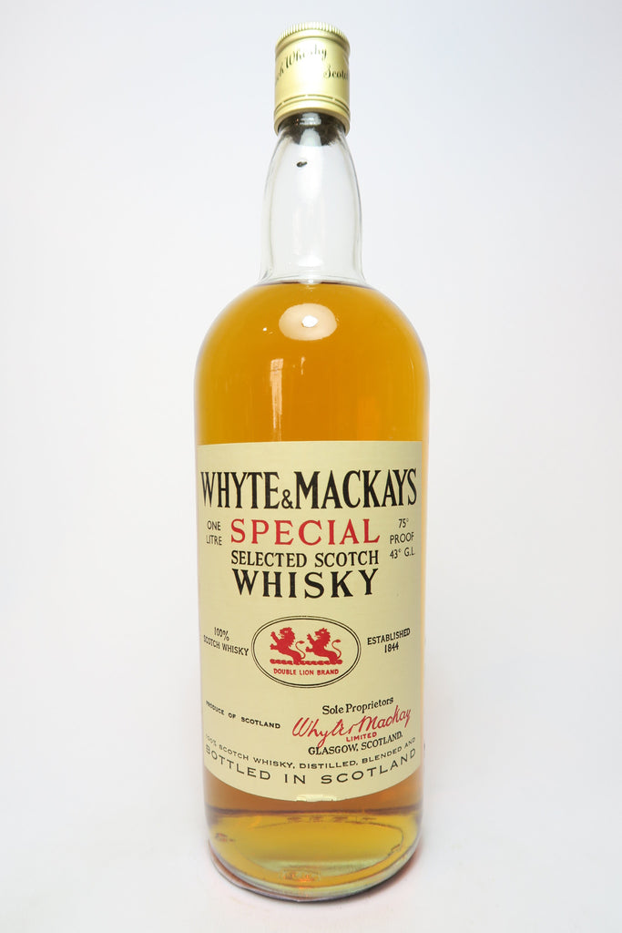 Whyte & Mackay Special Selected Scotch Whisky - 1970s (43%, 100cl)