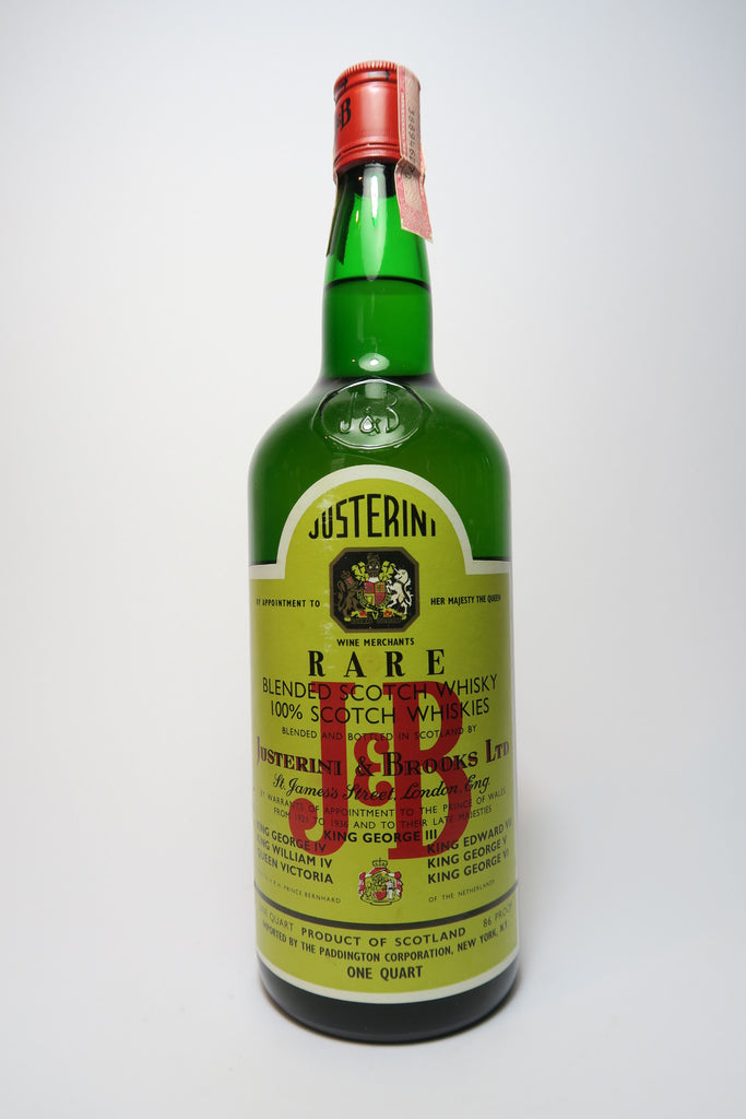 J & B Blended Scotch Whisky - 1960s (43%, 94.6cl)
