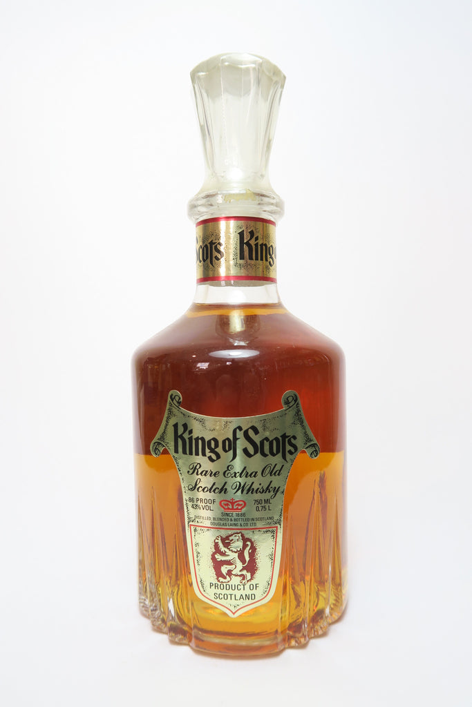 King of Scots Blended Scotch Whisky - 1970s (43%, 75cl)