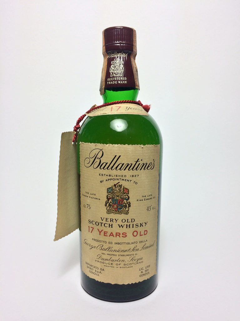 Ballantine's 17YO Very Old Scotch Blended Whisky - 1973 (43%, 75cl)