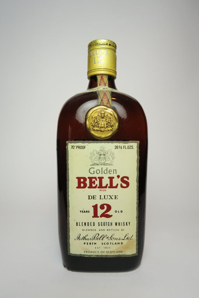 Arthur Bell's Golden Bell's De Luxe 12YO Blended Scotch Whisky - 1970a