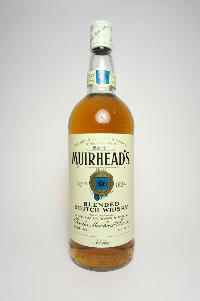 Charles Muirhead & Sons' Blended Scotch Whisky - 1970s (43%, 100cl)