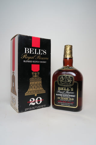 Arthur Bell's 20YO Royal Reserve Blended Scotch Whisky - 1970s (43%, 75cl)