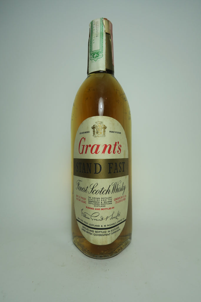 Grant's Stand Fast Blended Scotch Whisky - 1960s (43%, 75cl)