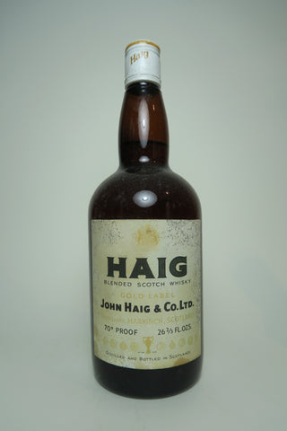 John Haig Gold Label Blended Scotch Whisky - 1970s (40%, 75cl)