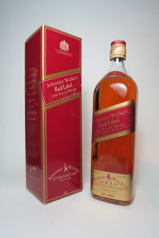 Johnnie Walker Red Label Blended Scotch Whisky - 1990s (40%, 100cl)